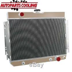 3 Rangée Radiateur En Aluminium Pour 1963-1968 66 Impala Chevy Beaucoup Gm Voitures À / Mt Uk Bateau