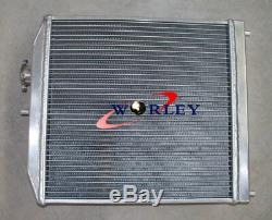 3 Rangs Radiateur En Aluminium Et Suaire Et Ventilateur Pour 1992-2000 Honda CIVIC Eg Ek B16 B18