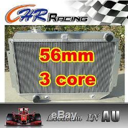 3 Row 56mm Alliage Aluminium Pour Holden Hq Radiateur Hj Hx Hz 253 Et 308 V8