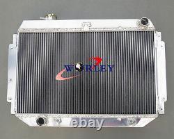 3 Row 56mm Pour Hq Hj Hx Hz 253 & 308 V8 Radiateur Aluminaire Alloyé + Fans