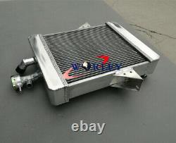 3 Row 62mm Radiateur En Aluminium Pour 1966-1973 Triumph Gt6 Manuel 67 68 69 70 71 72