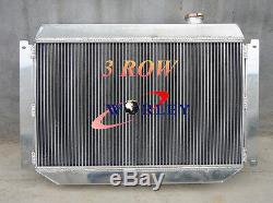 3 Row Alliage Holden Hq Hj Hx Hz Kingswood V8 Radiateur En Aluminium