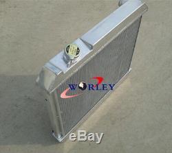 3 Row Aluminium Radiateur + Fan Chevy Truck C10 C20 C30 1963-1966 63 1964 65 66