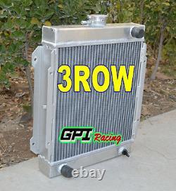 3 Row Datsun En Alliage D'aluminium De Radiateur 1200 B110 A12 / T 1970-1976 71 72 73 74