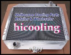 3 Row Ford F100 F250 F350 V8 Radiateur En Alliage D'aluminium Radiateur 67-81 + 12 Fan