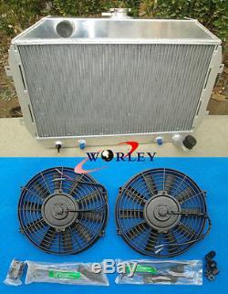 3 Row Pour Nissan / Datsun 240z / 260z 1970-1975 Radiateur En Aluminium At / Mt & 210 '' Fan