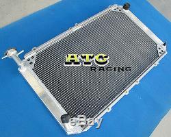 3 Row Radiateur Pour Nissan Aluminum Patrol Gq 2.8 4.2 Diesel Td42 Et 3.0 Petrol Y60