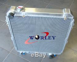 3 Row Salut-perf Radiateur En Aluminium Pour Toyota Hilux De Kzn130 1kz-te 3.0 Td 93-96