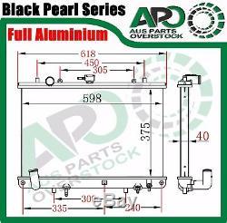 3core Plein Alliage Radiateur Pour Mitsubishi Triton Mk 3.0l V6 6cyl 10 / 1996-6 / 2006