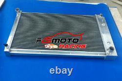 3row Aluminium Radiateur + Ventilateur Pour Pontiac Firebird / Trans Am 1970-1981 71 72 73