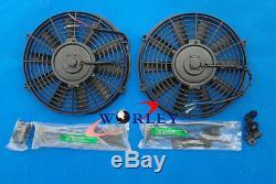 3row Pour Toyota Supra Soarer Mk3 Ma707m-gte 3.0l 86-92 Radiateur + Fans Aluminum