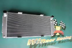 4 Rangs 100mm Radiateur Alliage D'aluminium Ford Gt40 V8 1964-1969 Haute Performance
