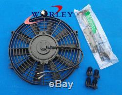 4 Row Honda CIVIC Eg Ek B16 B18 92-00 32mm Pipe Radiateur En Aluminium + + Enveloppe Fan