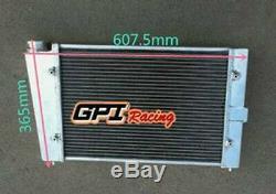 40mm 2 Lignes Radiateur En Alliage D'aluminium Pour Vw Golf Mk1 1.1 1.3 1981-1984 1982 1983