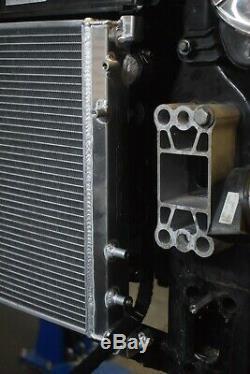 40mm Alliage Race Radiateur Aluminum Rad Pour Fiat 500 Abarth 1.4 Turbo 08-18