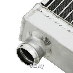 40mm Alliage Race Radiateur Aluminum Rad Pour Ford Escort Mk3 Série 1 1.6 Rs Turbo