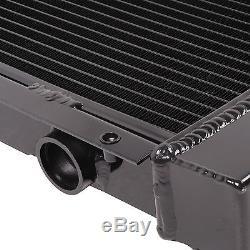 40mm Noir Edition En Alliage Radiateur Pour Subaru Impreza Classique Gc8 Wrx Sti Ej20 22