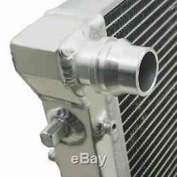40mm Radiateur Rad Alliage D'aluminium Pour Vw Polo 9n 1,0 1,2 1,4 1,6 1,9 Tdi 99-07