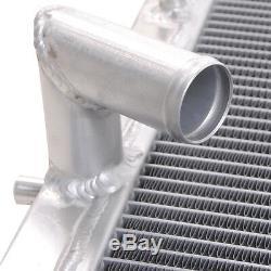 40mm Radiateur Rad Pour Aluminum Mitsubishi Pajero Shogun L200 2.5 Turbo Diesel