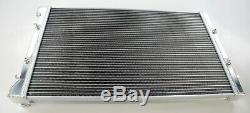 42mm Alliage D'aluminium Sports Radiateur Rad Audi A3 8l S3 Tt 1.8t Quattro 225 Bam