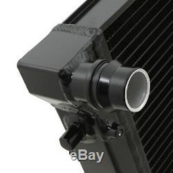 42mm Black Alliage Race Radiateur Rad Pour Seat Leon Cupra R 1.8t 1,6 1,9 Tdi 06/02