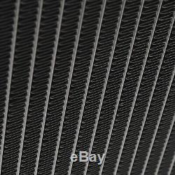 42mm Noir Alliage D'aluminium Bipolaire Radiateur Pour Ford Escort Rs 1.6 1600 Mk2
