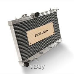 42mm Radiateur En Aluminium Convient Subaru Impreza Gda Newage Gdb Wrx Sti Turbo 03-07