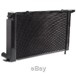47mm Noir Edition En Alliage Rad Radiateur Pour Ford Escort Rs Turbo Série 2 86-90