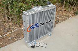 50 MM En Alliage D'aluminium Radiateur Pour Renault 5 Super 5/9/11 R5 Gt Turbo À 85-91 + Ventilateur