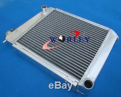 50 MM En Aluminium Radiateur + Ventilateur Pour + Suaire Austin Mini Rover 1275 Gt 1959-1997 Mt