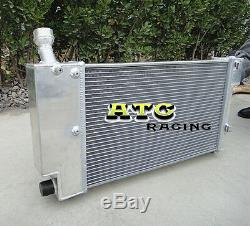 50mm Radiateur En Aluminium Pour Peugeot 106 Gti Rallye / Citroen Saxo / Vtr 1996-2001