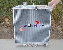 52 MM Radiateur En Aluminium Pour Honda CIVIC Ek Eg 92-00, Del Sol 93-97