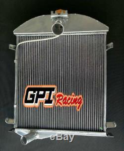 52mm Pour Radiateur En Alliage D'aluminium Modèle 1928-1929 28 29 Ford