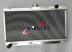 52mm Radiateur En Aluminium Pour 1998-2005 Mazda Mx5 Nb Roadster Mx5 Miata Mt 1.6 / 1.8