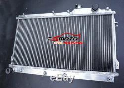 52mm Radiateur En Aluminium + Ventilateurs Pour Mazda Mx5 Na Miata 1.6l 1.8l 1990-1997 91 Mt