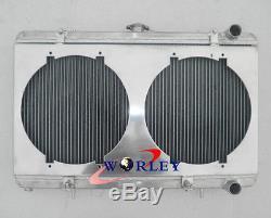 52mm Ventilateur En Radiateur En Alliage D'aluminium Pour Nissan Silvia S13 Ca18det Turbo