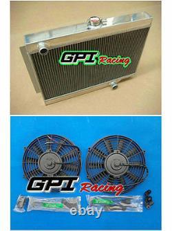 56mm 3 Cœurs Aluminum Radiateur D'allemagne Fit Holden Eh/ej 179 L6 M/t 1962-1965 +fan