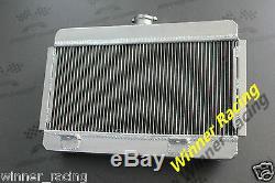 56mm Alliage Radiateur / Radiateur Kühler Citroen / Citroën Ds / ID