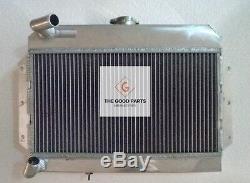 56mm En Alliage D'aluminium De Radiateur Pour Mgb Gt / Roadster Top-fill 1968-1975 69 70 71 72