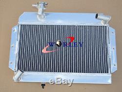 56mm En Alliage D'aluminium Radiateur Mg Mga 1500/1600 / 1622 / De-luxe Mt 1955-1962 61 60