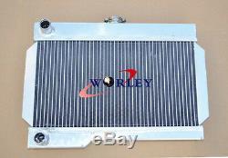 56mm En Alliage D'aluminium Radiateur Pour Rover Mg / Mgb-gt Mt Nib
