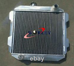 56mm Pour Ford Capri Mk2 Mk II 2600/2800 V6 1974-1977 Mt Aluminium Radiator+fan