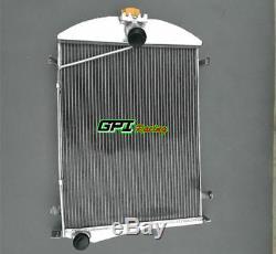 56mm Pour Ford Model A 1930 1931 30 31 Radiateur En Alliage D'aluminium