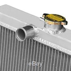 56mm Race Radiateur En Aluminium Série De La Rover Correspond À 3 4cyl 2a Diesel / Essence