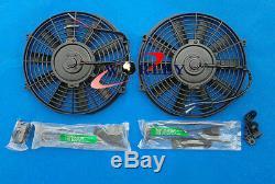 56mm Radiateur En Aluminium Et Ventilateurs Pour Lotus Elise & Exige Series 1 & 2 & Vauxhall Vx220