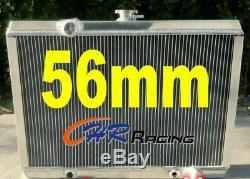56mm Radiateur En Aluminium Pour Mitsubishi Starion Turbo 2.0 Manuel Mt