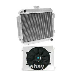 56mm Radiateur En Aluminium & Ventilateur De Ventilateur Convient À Capri Rs / Escort Superspeed mk1 Essex V6
