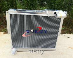 56mm Radiateur Mg Aluminum Mgb Gt / Roadster 1977-1980 1978 1979 78 79 80