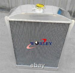 5row Chevy Voiture Rue Rod Auto 1940-1941 40 41 En Alliage D'aluminium De Radiateur