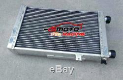 62mm Pour Lotus Europa Coupe S1 S2 Tc 1,5 1,6 1966-1976 Radiateur En Aluminium + Fan